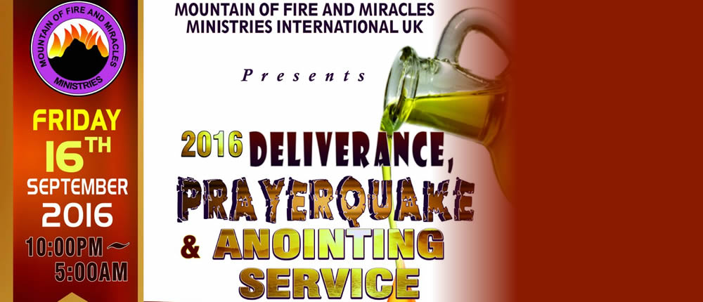 Deliverance, Prayerquake & Anointing Service