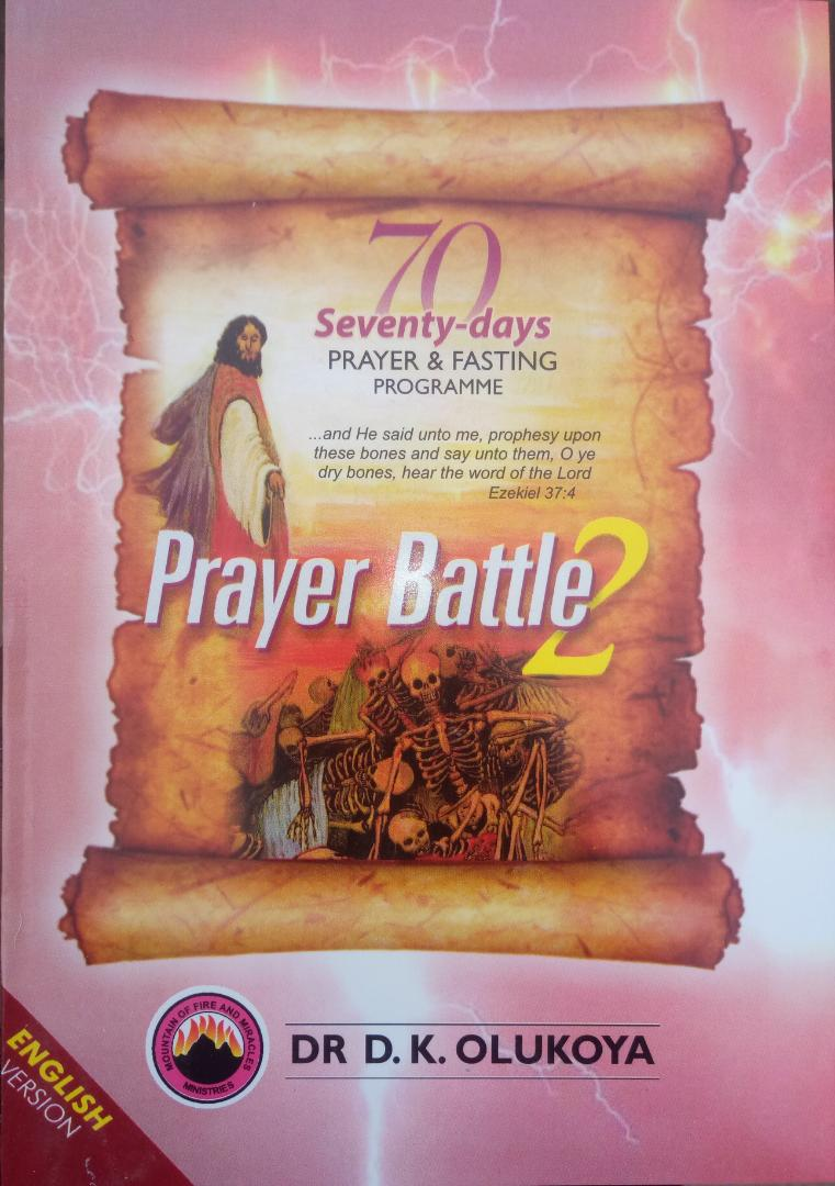 70 Days Prayer Book