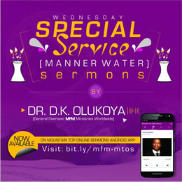 Manner Water Sermons